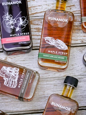 Runamok Maple, based in Fairfax, sells aged, smoked and infused maple syrups.