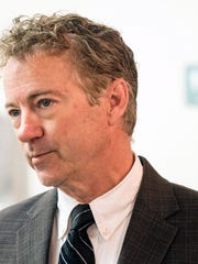 Senator Rand Paul made a stop at the St. Matthews Community Center on Monday to discuss the changes coming to healthcare in America. 3/20/17