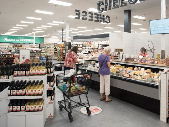 In its renovation of its south Asheville store, Earth Fare has gone for a brighter look with a greater variety of products.