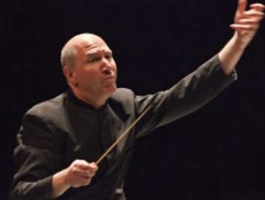 Bay-Atlantic Symphony Conductor Jed Gaylin.