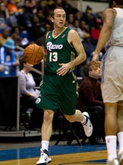 Former Missouri State standout Blake Ahearn has had 14 stops in professional basketball in seven years since his college career ended.