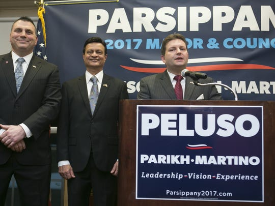 Parsippany Council candidates Chris Martino and Casey