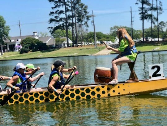 The 2019 Dragon Boat races are Friday and Saturday.