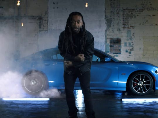 Ty Dolla $ign and a Dodge Charger in a 90 second ad that debuted during the American Music Awards on Nov. 22, 2015