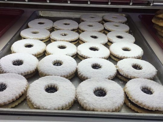 Linzer tarts are a favorite at Big Apple Bakery in