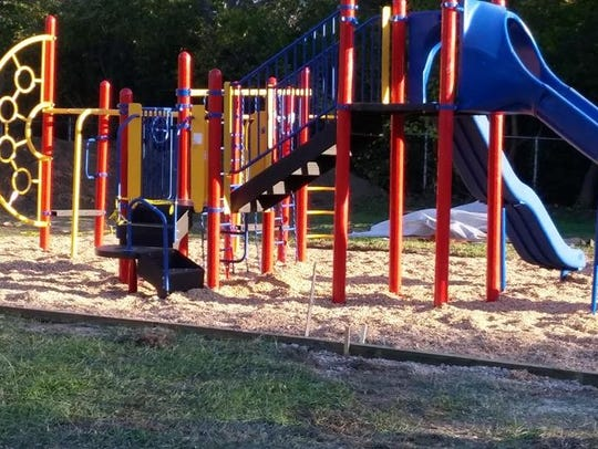 Blaine Southeast's new playground, made possible by
