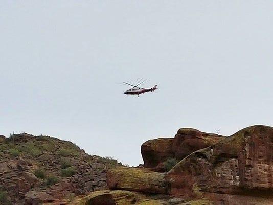 Camleback Mountain rescue