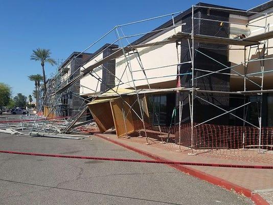 Glendale scaffolding