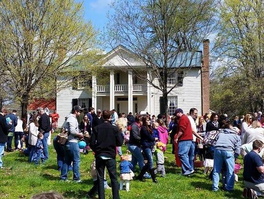 Sam Davis Home will host the Easter Eggstravaganza