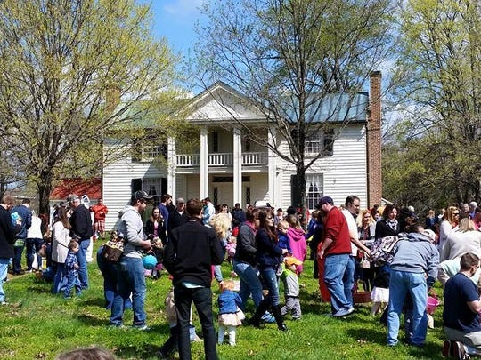 Sam Davis Home will host the Easter Eggstravaganza on Saturday.