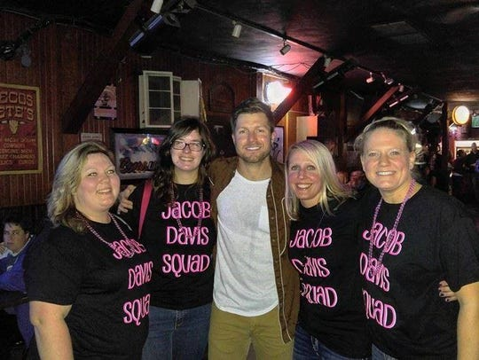 The Jacob Davis Squad attended two shows in one weekend