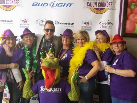 The Cajun Cookoff and Carnivale includes professional