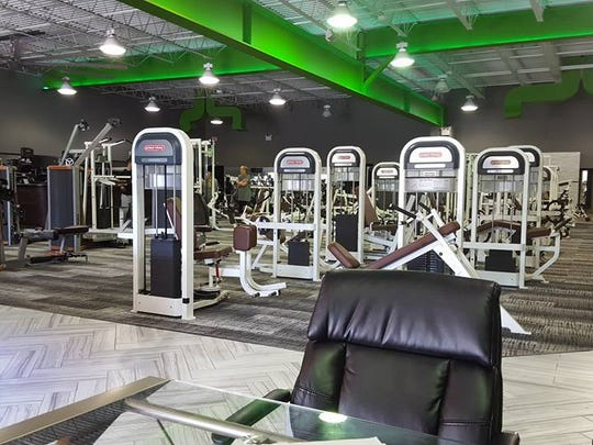 A look inside Fusion Gym in Voorhees. The gym is currently offering memberships for $5 per month for the first year