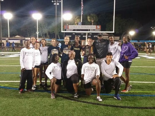 The Florida High girls track team took second at the Region 1-2A meet on Tuesday at Jacksonville Bolles.