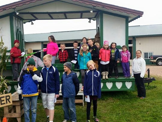 Wagon rides are available at Seehafer Farm Creamery