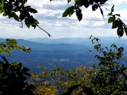 Preserving access to Bailey Mountain allows hikers to take in classic Blue Ridge Mountain views.