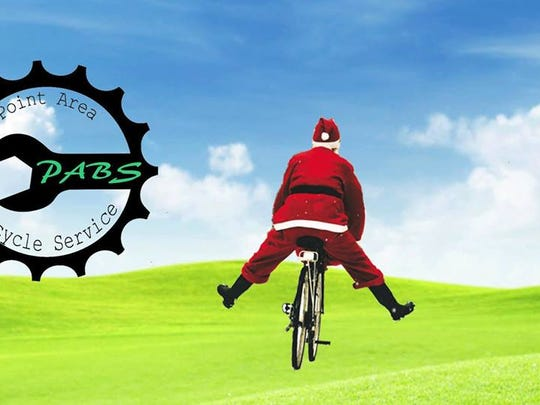 Point Area Bicycle Service will host Christmas in July on July 10, 2016.
