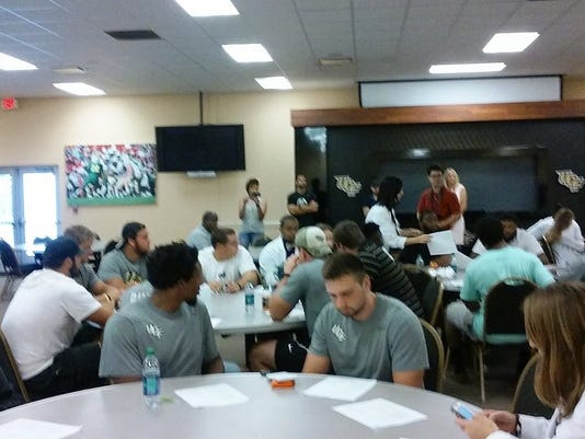 UCF football nutrition camp