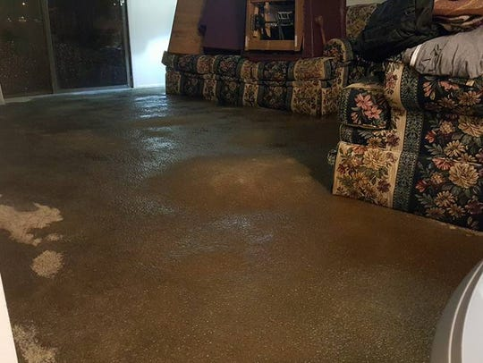 Flooding hit several apartments at The Arbors of Battle