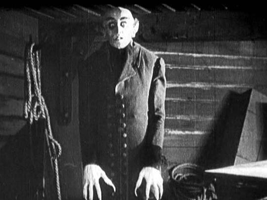 """Nosferatu"" is one of two films that Robert Nicholls will be playing improvised organ music too during this weekend's Silent Film Festival."