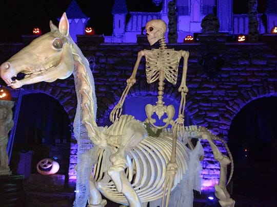 The Bone Ranger at the Haunted Graveyard Arizona. October 27th Thru the 31st 6:30 to 10 p.m. 8414 East Valley Vista Drive Scottsdale Arizona . Enter if you dare