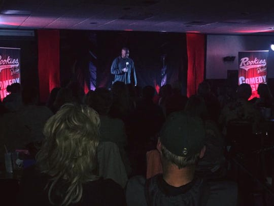 Rookies Sports Pub will offer a comedy night on Friday