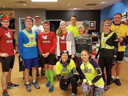 "The Appalachian Running Company organized a ""Jingle"