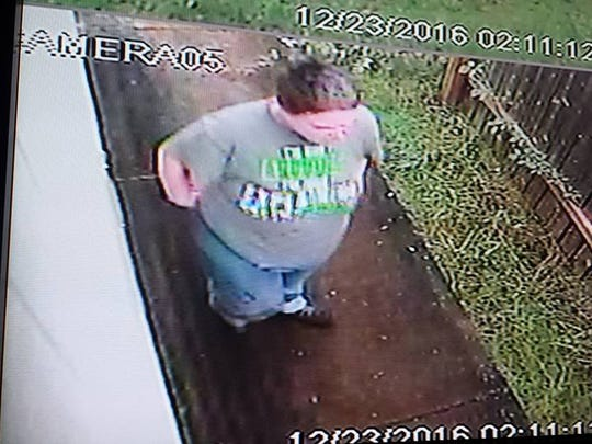 Video footaged recorded a man stealing packages from a north Salem home Dec. 23.