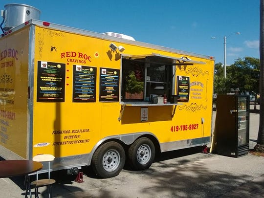 Red Roc food truck.