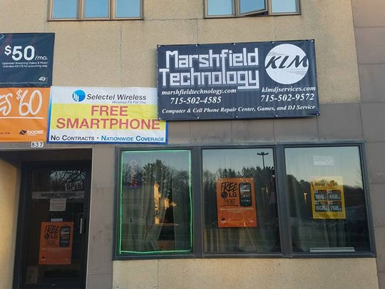 Marshfield Technology has moved for the second time in the past few months and is now located at 837 S. Central Ave.