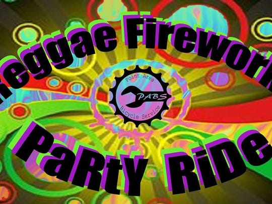 Point Area Bicycle Service will host the Reggae Fireworks Mellow Ramble on July 29, 2017.
