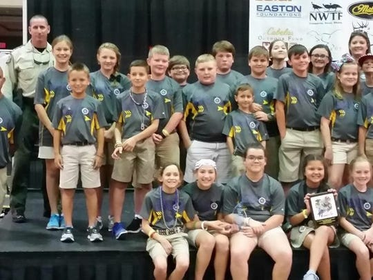 Benton Elementary finished second at the 2017 NASP