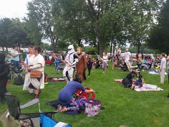 The second annual costume contest will take place at the Movies in the Park event on Aug. 18, 2017 at Pfiffner Pioneer Park.
