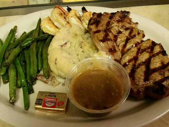 One of Kick Switch's most popular specials is its steak