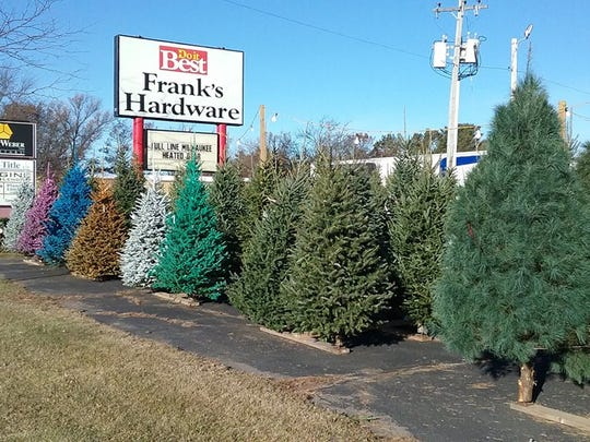Wolosek Christmas Trees, located at 2400 Tower Road in Wisconsin Rapids, also sells trees at Frank's Hardware and St. Vinny's Thrift Store in Stevens Point.