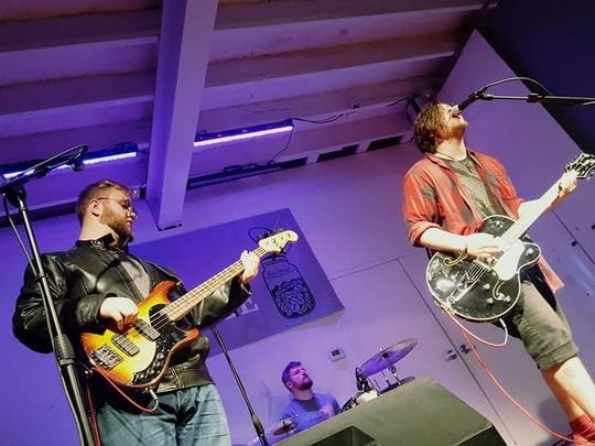 THE GO-TOs perform at the Space Jam showcase presented by Loose Change Productions on December 2, 2017 in Jackson, Tenn.