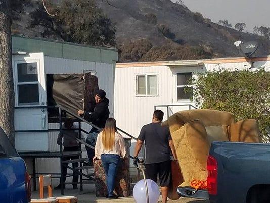 Thomas Fire Donations