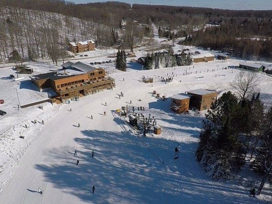 Opening day at Ski Brule on Nov. 10, 2017.