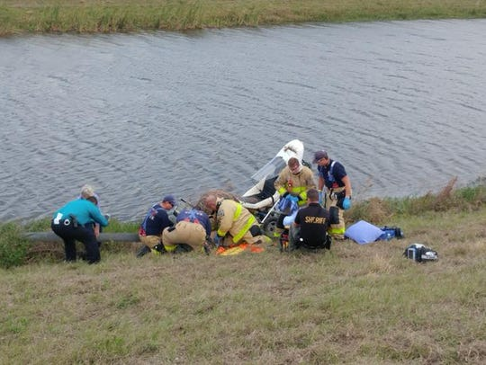 Martin County Sheriff's Office deputies and Fire Rescue