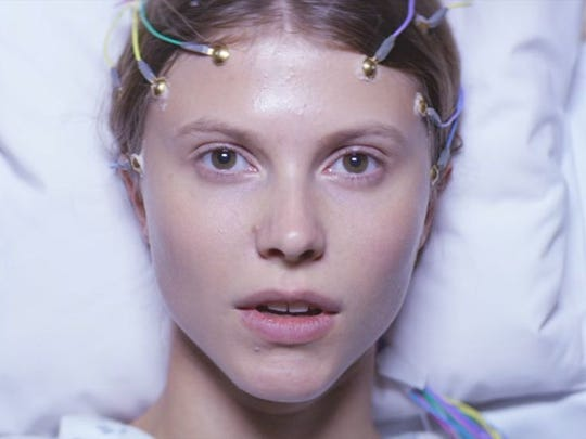 Eili Harboe plays a woman experiencing seizures with
