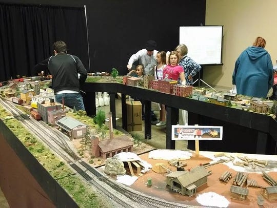 The Ozarks Model Railroad Association's train show