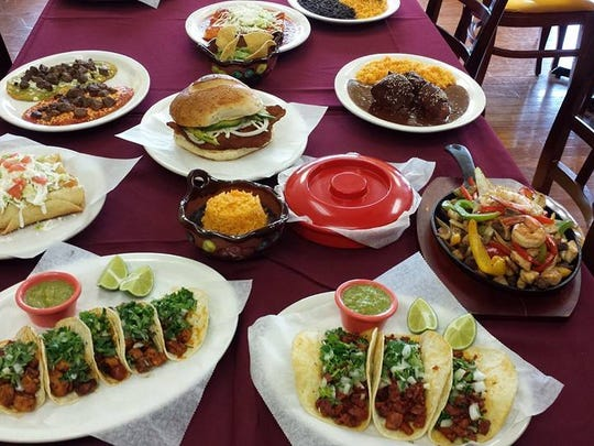 A sampling of the dishes served at Tornandez Restaurante Mexicano in Brick and Point Pleasant Borough.