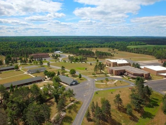 The 1,500-acre campus includes housing and camping