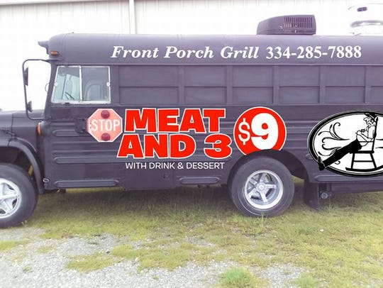 Front Porch Grill's truck.