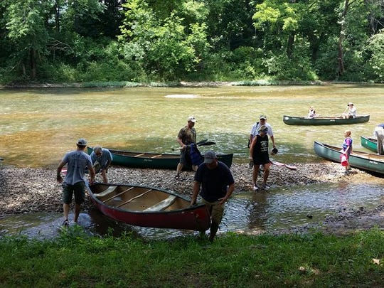 Volunteers will clean a 6.5-mile section of the James
