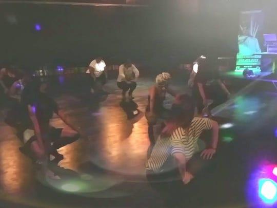Stilettos Dance Class at Artipsy led by Rebekah Elam.