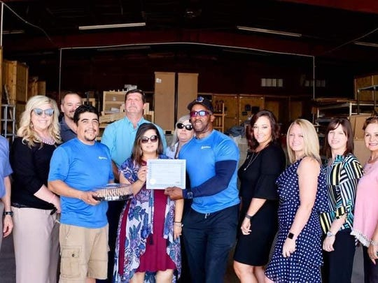EZ Moving and Storage was honored as the July Business of the Month by the Carlsbad Chamber of Commerce Ambassadors.