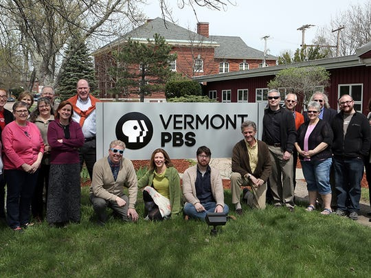 The staff of Vermont PBS celebrates Fred Rogers Day by wearing sweaters in his honor. Each year on May 1, those in public television celebrate when Rogers, in 1969, testified before congress and defended public television from budget cuts.