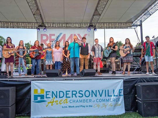 Hendersonville Chamber of Commerce's Freedom Fest included