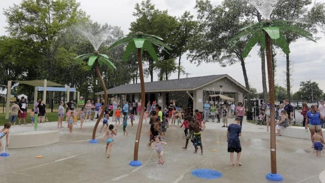 Whitehall's splash pad at John Bishop Park is set to open July 10 with a new reservation system to limit the number of users.